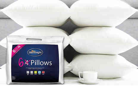 Chums - Six pack of silentnight microfiber pillows - Save 57%
