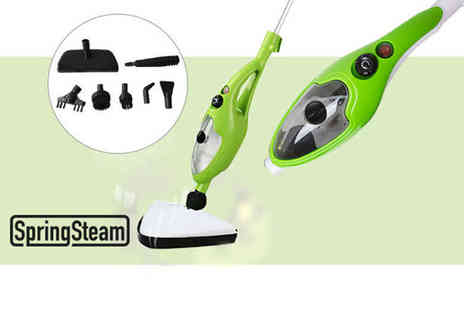 Home Empire - 10 in 1 steam mop - Save 71%