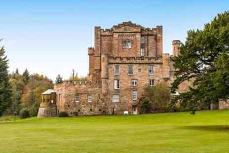 Dalhousie Castle - Castle stay near Edinburgh with dinner & wine - Save 0%