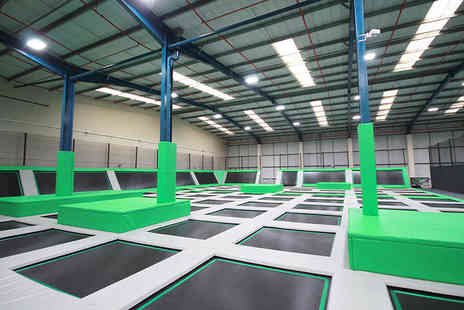 Ascent Trampoline Park - Two hour caving, jumping and climbing session for one or two - Save 32%