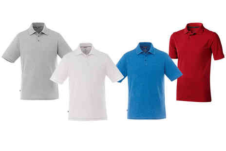 New Mills - Elevate short sleeved polo shirt choose from four colours - Save 71%