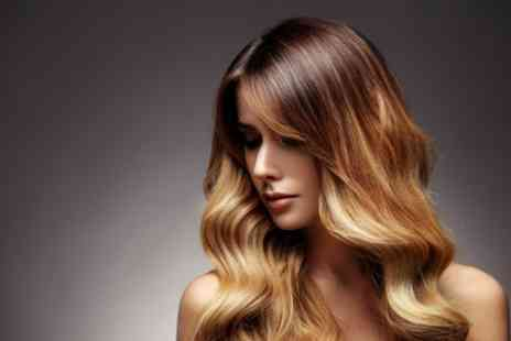 Gabriela Hair and Beauty - Cut and Blow Dry with Optional Half Head Highlights or Full Head of Colour - Save 32%