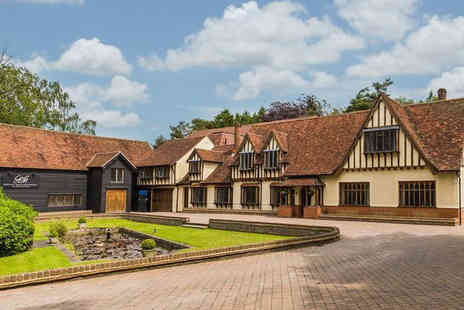Great Hallingbury Manor - One or two night stay for two people with breakfast and one two course dinner each - Save 34%