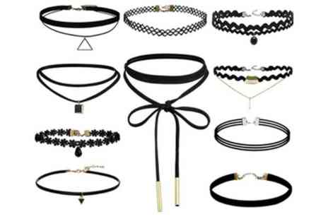 Groupon Goods Global GmbH - Ten Piece Retro Choker Set - Save 88%
