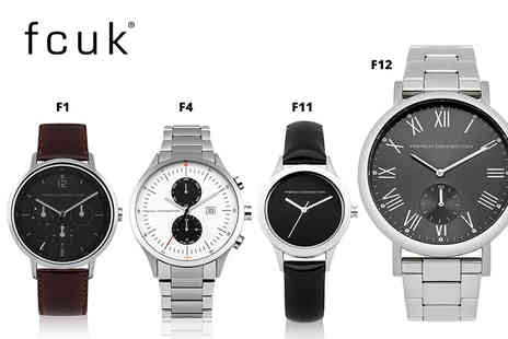 Brand Logic - Fcuk watch choose from 12 designs - Save 78%