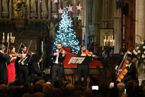 Candlelight Concerts - One band A, B or C ticket to see Viennese Christmas Spectacular by Candlelight on 8 December To 30 December - Save 28%