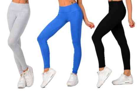 Groupon Goods Global GmbH - Two Pack of Sport Leggings - Save 63%
