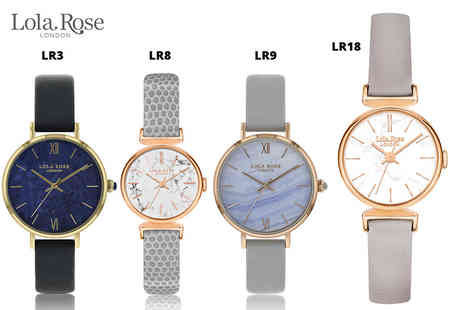 Brand Logic - Lola Rose watch choose from 19 designs - Save 71%