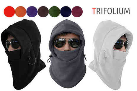 Trifolium Lingerie - Multiway thermal fleece balaclava - Save 75%