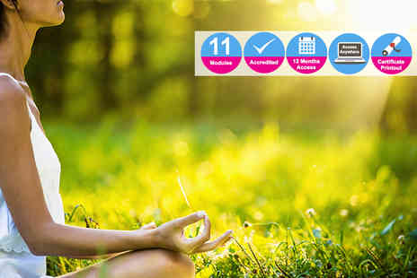 Kew Training Academy - Accredited course in powerful meditation for healing your soul - Save 81%