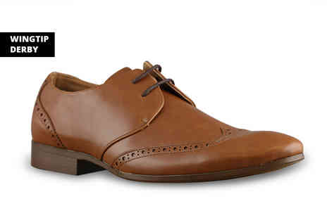 Find Your Sole - Pair of formal brogues choose from six designs - Save 0%