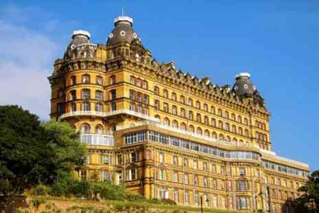 Britannia Grand Hotel Scarborough - One or Two Nights for Two with Breakfast, Buffet Dinner and Wine - Save 0%