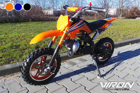 Viron Motors - 49cc Enduro dirt bike - Save 60%