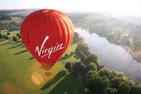 Virgin Balloon Flights - Virgin 7 Day Anytime Plus hot air balloon experience with champagne for one or two - Save 52%