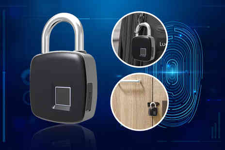 Maxwe - Smart fingerprint padlock - Save 66%