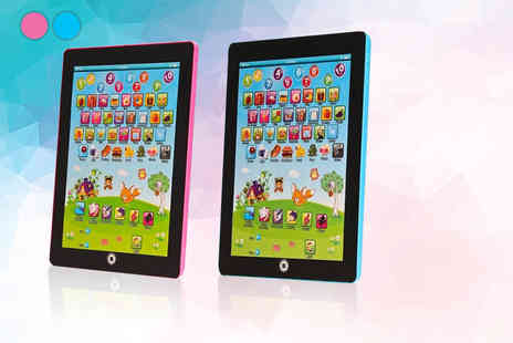 Kequ World - Toddlers learning tablet toy - Save 70%