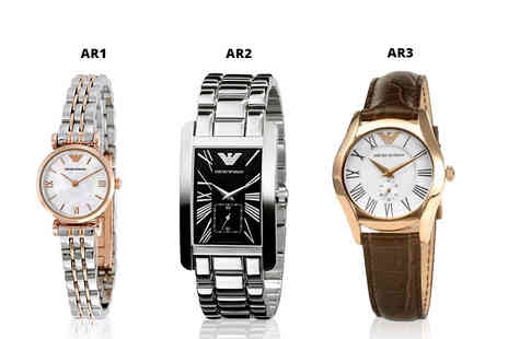 Brand Arena - An Emporio Armani ladies watch - Save 68%