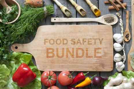 The Training Terminal - Food safety course bundle with three accredited courses - Save 79%