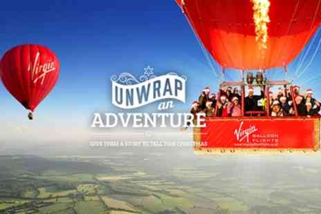 Virgin Balloon Flights - Seven Day Anytime Plus Balloon Flight for One or Two - Save 52%