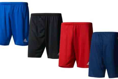 Groupon Goods Global GmbH - Adidas Parma 16 Boys Shorts in Choice of Size and Colour - Save 0%