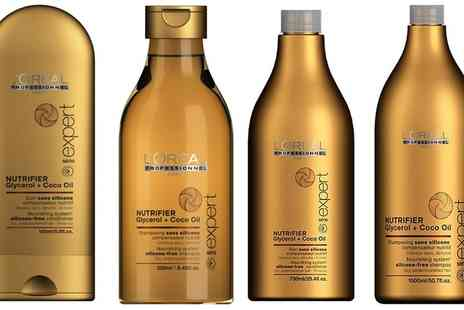 Groupon Goods Global GmbH - LOreal Expert Nutrifier Shampoo or Conditioner or Both - Save 0%