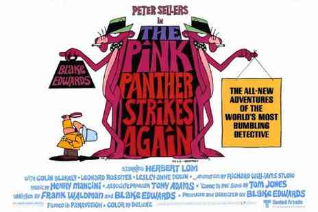 BFI - The Pink Panther Strikes Again Screening at the BFI plus Intro by the Beloved David Walliams - Save 20%