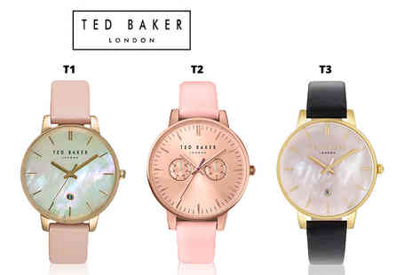 Brand Arena - Ted Baker ladies watch choose from 15 designs - Save 69%