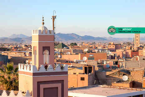 Via Holiday - Two, three or five night all inclusive Marrakech stay and return flights - Save 51%
