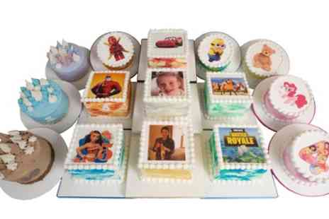 3D Cakes - Small, Medium, Large or Extra Large Personalised Picture Cake - Save 76%