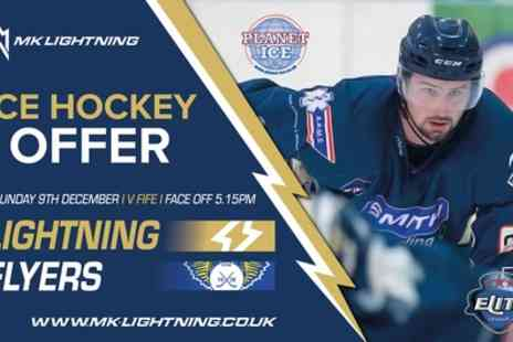 MK Lightning - Child, concession or adult ticket to a choice of MK Lightning fixture on 9 and 20 December 2018, 24 and 27 January 2019 - Save 30%