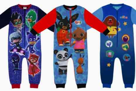 Groupon Goods Global GmbH - Toddlers Character Fleece Onesies - Save 0%