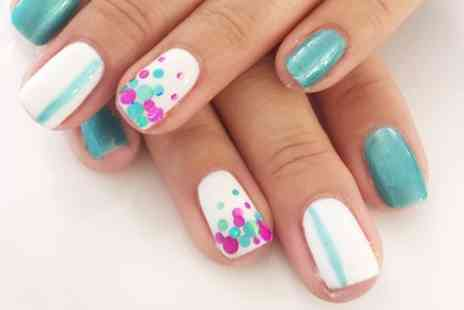 The Attic Hair & Beauty - Gel Polish on Fingers or Toes or Both - Save 51%