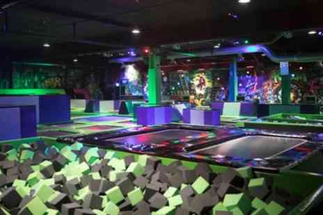 Flip Out - FlipOut Bronze or Gold Jump Party for 12 Children - Save 21%