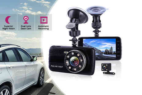 Hirix - HD dash cam or camera with 32GB memory card - Save 74%