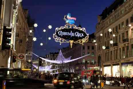 Premium Tours - Christmas Lights London Bus Tour for One Child or Adult - Save 50%
