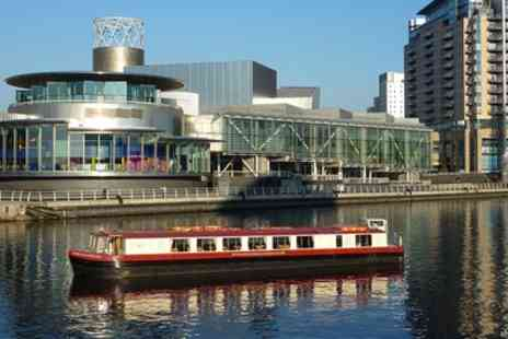 City Centre Cruises - Canal Boat Cruise with Two Course Lunch for Up to Six - Save 0%