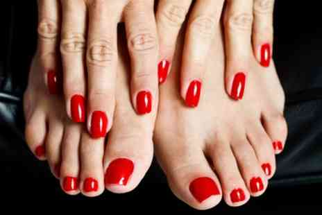 Bobby Beauty Salon - Gel Manicure, Pedicure or Both - Save 52%