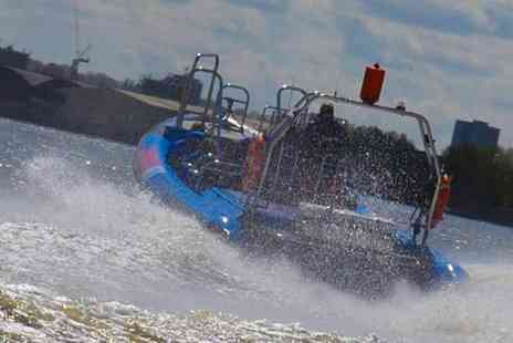 City Cruises - ThamesJet River Experience, Make a Day of it with the Planet Hollywood Combo Ticket - Save 31%