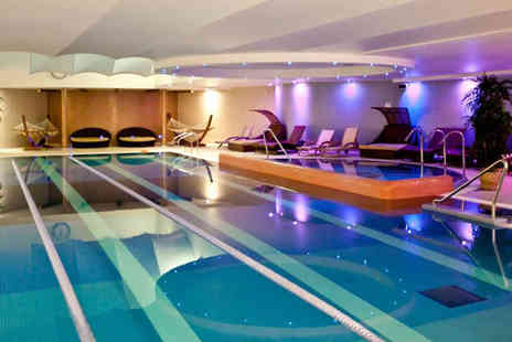 Bannatyne Spa - ELEMIS spa day for two people with full spa access and your choice of four treatments, a light lunch, two spa products and a £5 retail voucher each - Save 61%