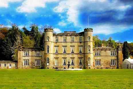 Melville Castle - Four Star one or two night castle stay for two people with dinner, breakfast and late check out - Save 35%