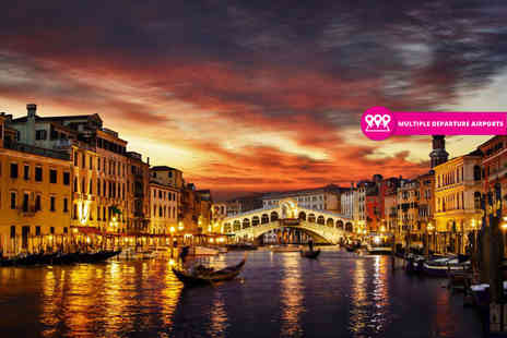 Weekender Breaks - Two or three night Venice city break with return flights - Save 27%