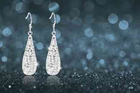 Evoked Design - Dangle teardrop earrings - Save 90%