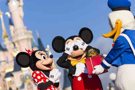 Crystal Travel - Two or three night Disneyland Paris break with a one day two park ticket and return flights - Save 28%