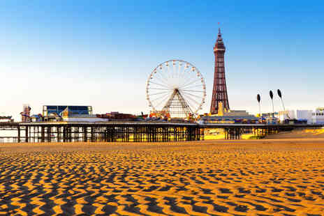 Vinnies Hotel - Two or three night Blackpool seafront hotel trip - Save 46%