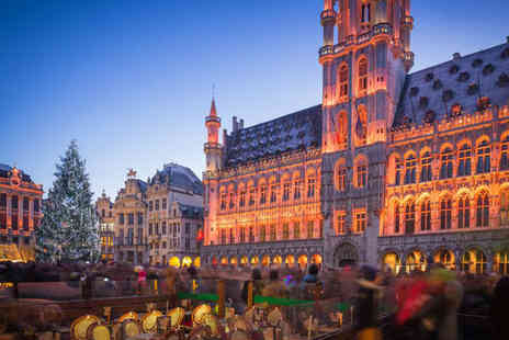 Bargain Late Holidays - Two or three night Brussels break with return Eurostar ticket - Save 27%