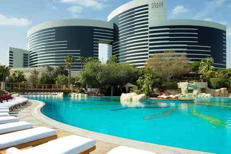 Grand Hyatt Dubai - Five Star Contemporary Style on Dubai Creek For Two - Save 80%