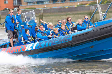 Virgin Experience Days - Thames Jet Boat Rush for Two - Save 24%