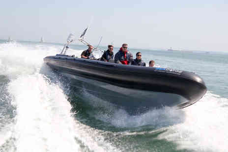 Virgin Experience Days - Extreme Solent RIB Taster for One - Save 55%