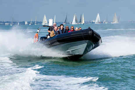 Virgin Experience Days - Extreme Solent RIB Taster for Two - Save 55%