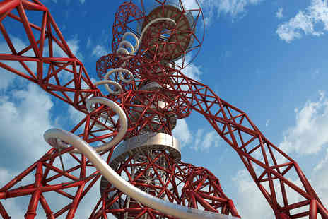 The ArcelorMittal Orbit - Skyline Views and The Slide with Hot Drink and Cake for Two - Save 0%